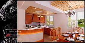 客厅连厨房