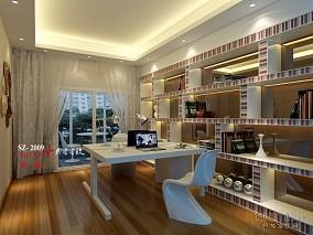 2018136平米现代复式餐厅实景图片欣赏