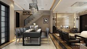 客厅连餐厅设计