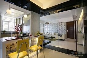 面积104平混搭三居餐厅装修图片