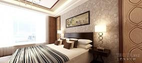 精美100平米三居卧室混搭装修设计效果图片欣赏