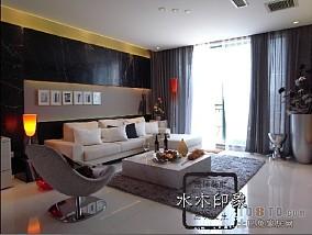热门面积85平小户型休闲区简约装修欣赏图片
