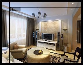 风景手绘卧室背景墙装饰图片