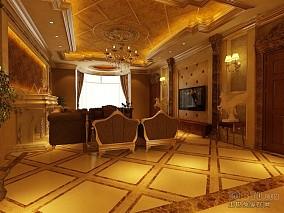 客厅简单装饰图