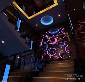 ktv楼梯装饰图片