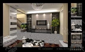 质感现代化客厅装修效果图