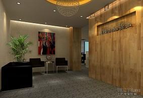 办公大厦接待厅装修效果图