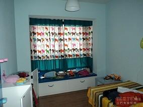 面积92平混搭三居儿童房装修欣赏图片