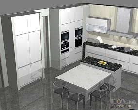 整体厨房样板间
