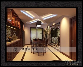 欧式田园风格餐厅灯具图片