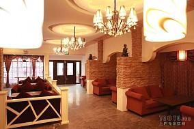 咖啡馆灯饰效果图设计图片赏析