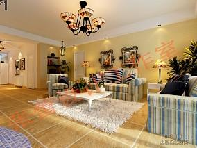 大气豪华现代客厅设计效果图