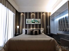 精美100平米三居卧室混搭装饰图