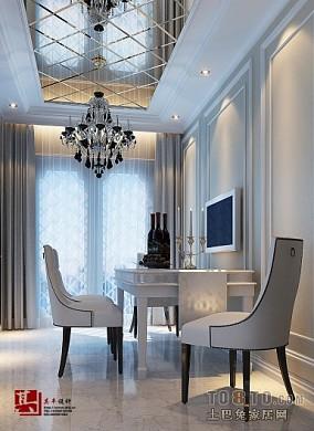 精选大小86平混搭二居餐厅装修设计效果图片