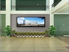 复式别墅电视背景墙设计