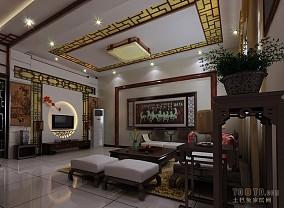 中式风格入户大门