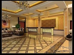 现代简中式餐厅图片