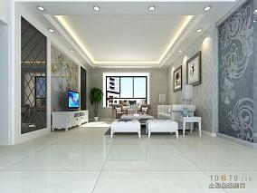 美式客厅设计曲美家居