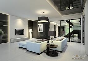 精选129平米四居客厅混搭装饰图片欣赏