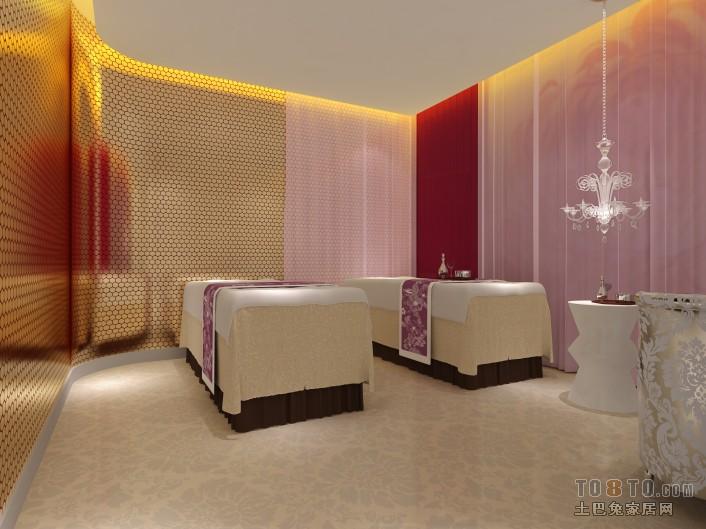 现代美容院装修设计图片赏析