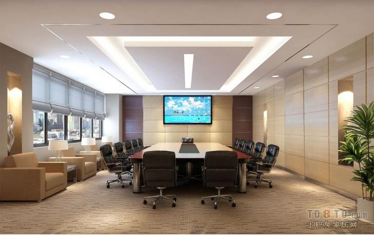 办公室设计室装修效果图12.28设计图片赏析
