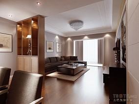 简约小清新复式家居设计
