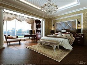 城南花园小区卧室装修
