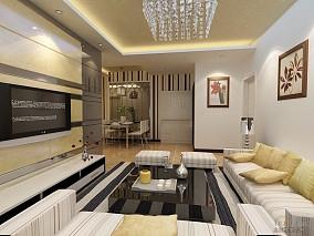 宜家简约小户型家庭客厅图片