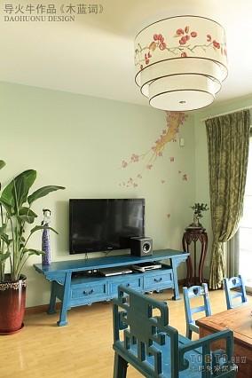 精选面积90平小户型客厅中式装饰图片大全