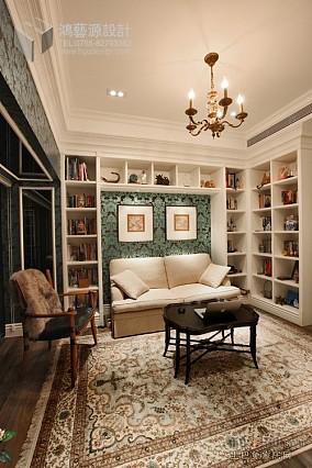 热门121平米欧式别墅书房欣赏图片