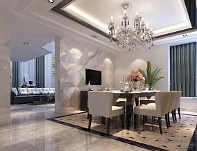 精选130平米欧式别墅餐厅装修欣赏图片