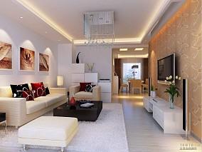 客厅灰色地板设计