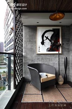 小客厅休闲阳台装修效果图