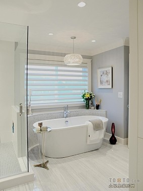 两室两厅现代卫生间装修效果图大全2014图片