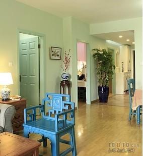 时尚小户型客厅玄关装修效果图大全2014图片