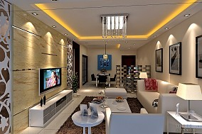百子湾一室一厅客厅设计