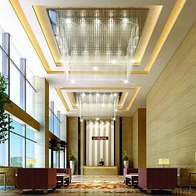 写字楼大堂休息区装修设计图片