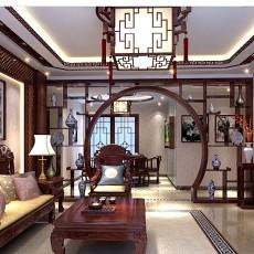 中式风格客厅装修效果图欣赏