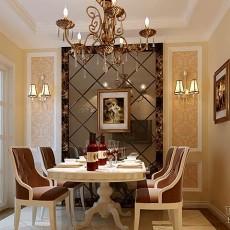 欧式风格家居餐厅装修效果图