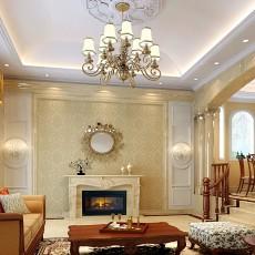 欧式客厅沙发吊顶装修