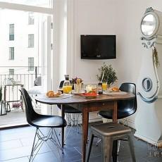 60平米简约小户型餐厅装修-创意装饰