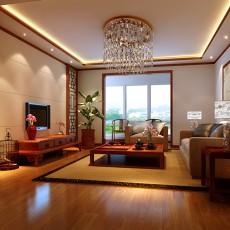 家庭中式客厅装修-西格玛装饰