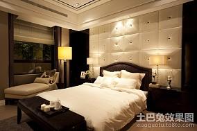 2018精选101平方三居卧室欧式装修设计效果图片