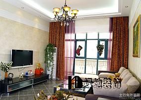 2013年家庭客厅装修效果图