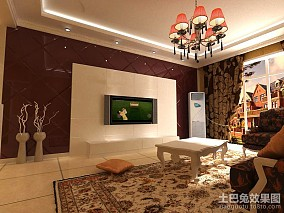 精选新古典二居客厅装修欣赏图片大全