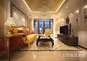 精选新古典二居客厅装修图片大全