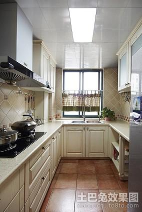 精美78平米二居厨房现代效果图