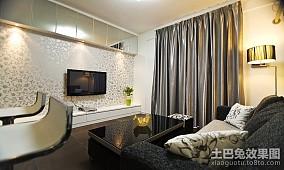 精美大小109平简约三居客厅装饰图片欣赏