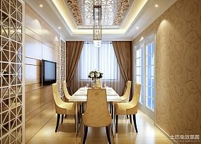 精选简约四居餐厅装修设计效果图片欣赏