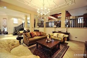 热门复式客厅欧式效果图片